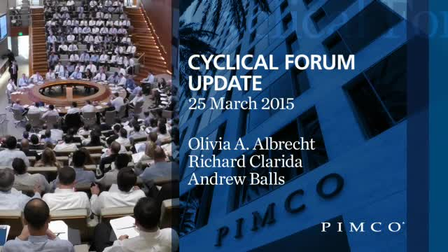 PIMCO Economic Outlook Update - March 2015