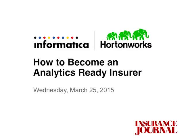 How to Become an Analytics Ready Insurer
