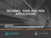 Securing your AWS Web Applications