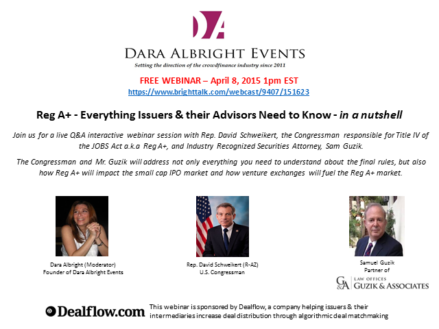 Reg A+ – Everything Issuers & Intermediaries Need to Know