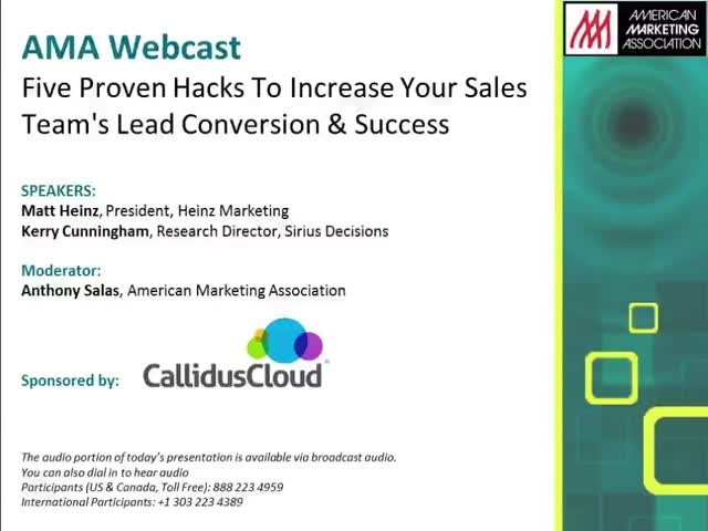 5 Proven Hacks To Increase Your Sales Team's Lead Conversion and Success