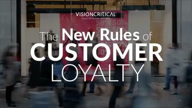 The New Rules of Customer Loyalty