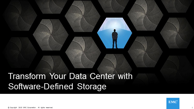 Transform the Data Center with Software-Defined Storage