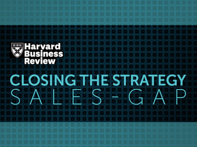 Closing the Strategy Sales Gap