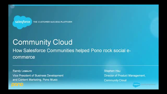Learn how Salesforce helped Pono rock social e-commerce