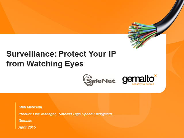 Surveillance: Protect Your IP From Watching Eyes