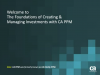 Keeping Projects on Time and Within Budget with CA PPM