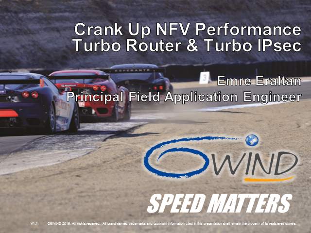 Crank Up NFV Performance with 6WIND Turbo Router and Turbo IPsec
