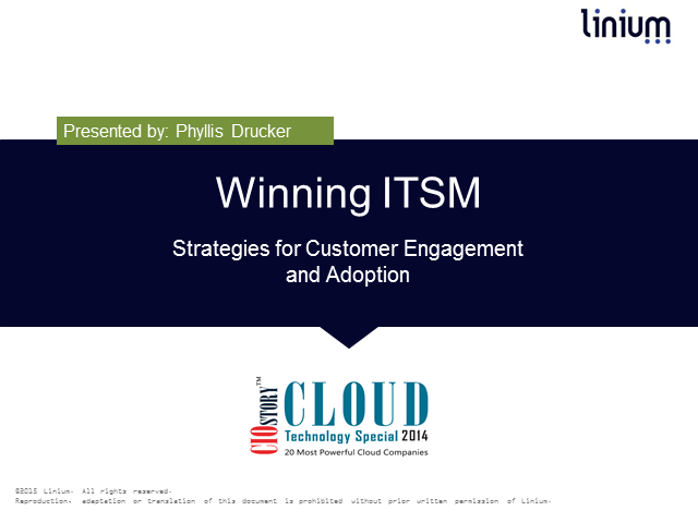 Winning ITSM: Strategies for Customer Engagement & Adoption