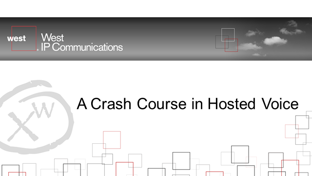 A Crash Course in Hosted Voice