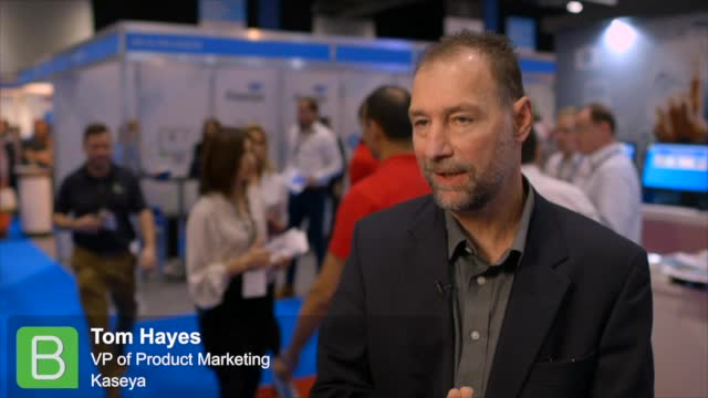 Cloud Expo Europe 2015: Tom Hayes, Kaseya