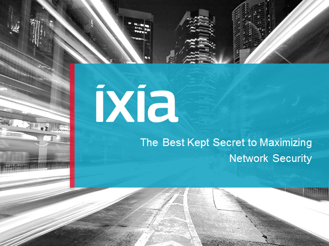 The Best Kept Secret to Maximizing Network Security