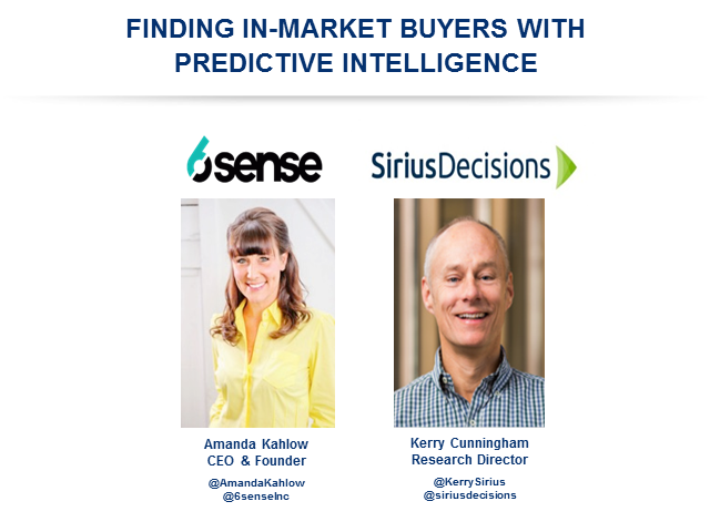 Finding In-Market Buyers With Predictive Intelligence