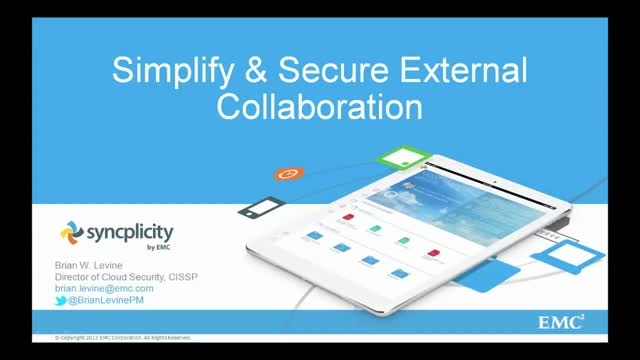 Simplify and Secure External Collaboration with Syncplicity