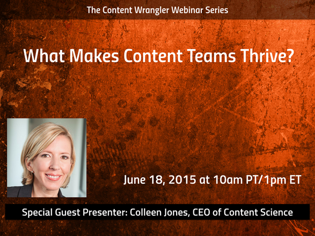 What Makes Content Teams Thrive?