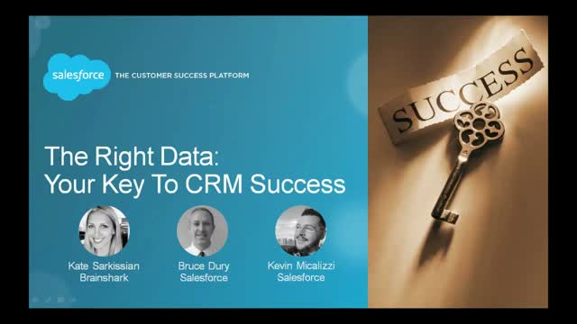 The Right Data: Your Key To CRM Success