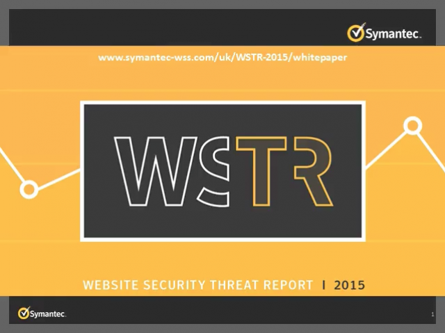 Website Security Threat Report 2015 - Key insights & looking ahead