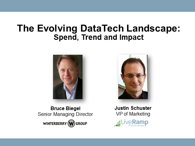 The Evolving DataTech Landscape: Spend, Trend and Impact