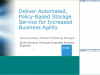 Automated, Policy-Based Storage for Added Business Agility with ViPR Controller