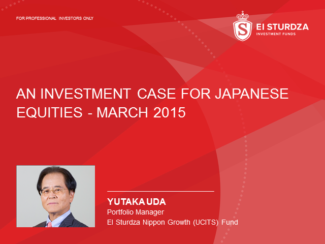 An Investment Case For Japanese Equities