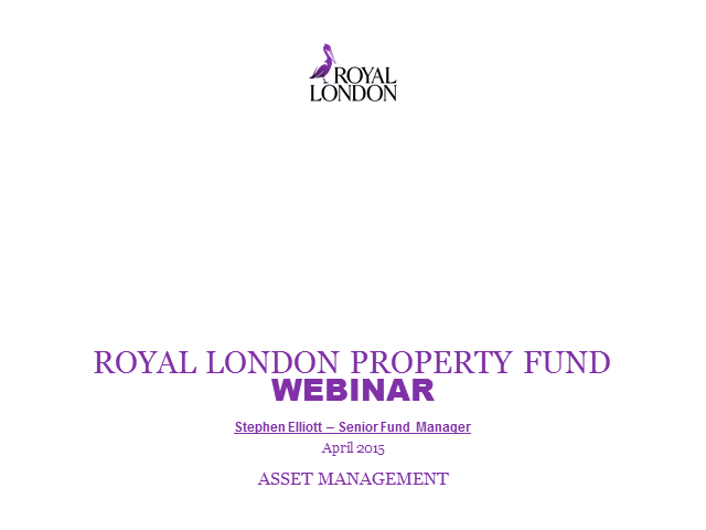 Royal London Property Fund Webinar