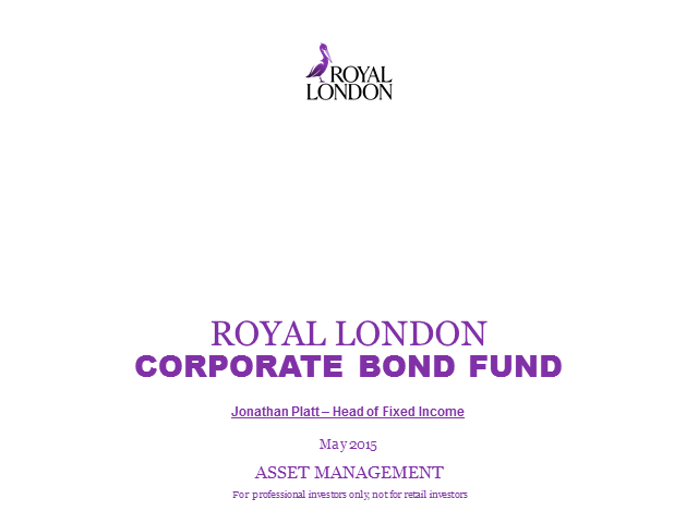 Royal London Corporate Bond Fund update