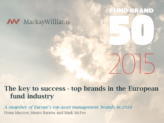 Top brands in the European fund industry - the key to success