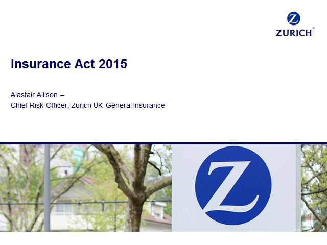 The Insurance Act 2015 and how organisations need to be ready to respond