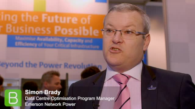 Cloud Expo Europe 2015: Simon Brady, Emerson Network Power
