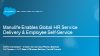 Manulife Enables Global HR Service Delivery & Employee Self-Service