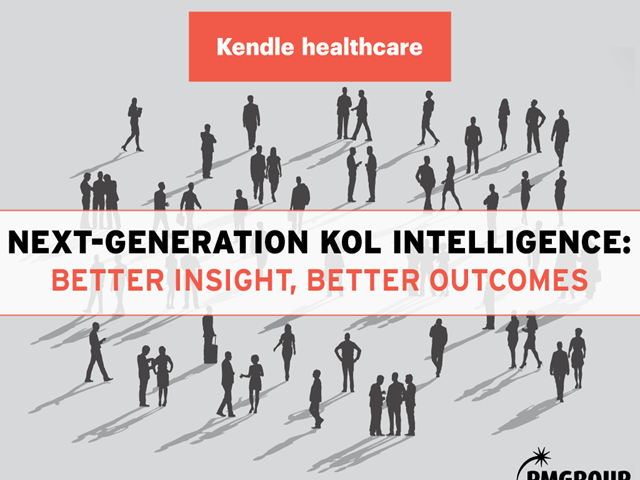 Next-generation KOL Intelligence: Better insight, better outcomes