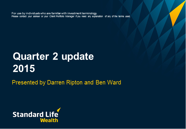 Standard Life Wealth Quarterly Update