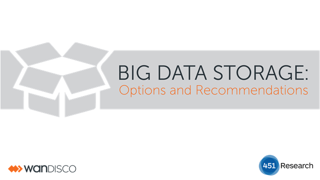 Big Data Storage: Options & Recommendations