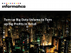 Turn up Big Data Volume to Turn up Big Profits in Retail and CPG