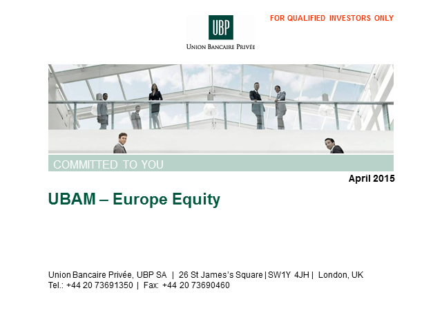 European Equities Update Call