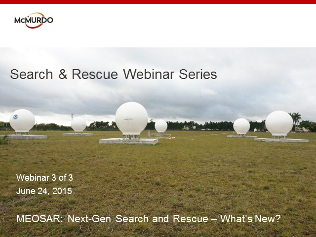 MEOSAR - Next-Gen Search and Rescue - What's New