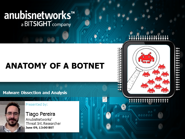 Anatomy of a Botnet – Dissecting and Malware analysis