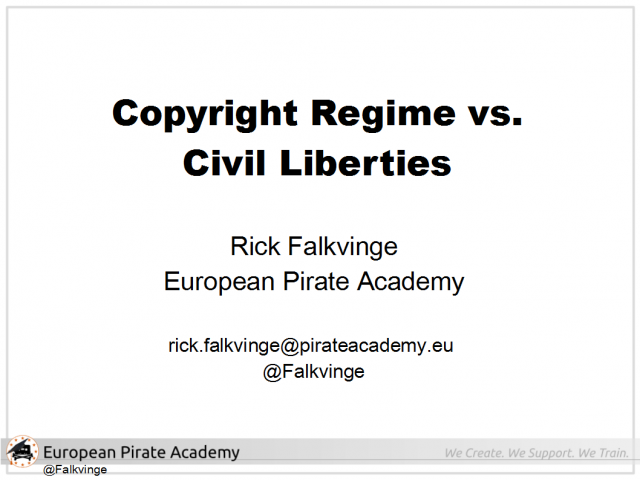 Copyright Regime vs. Civil Liberties