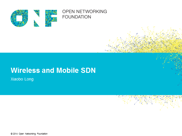 Mobile & Wireless Networks: trends, challenges & explorations into SDN use cases