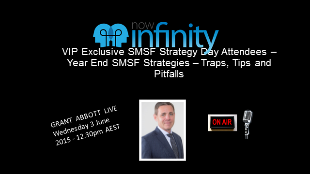 VIP Year End Advanced SMSF Client Strategies plus Pensions