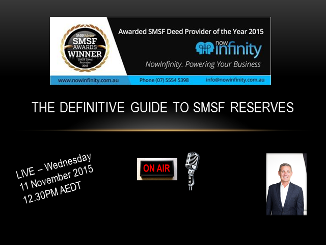 The Definitive Strategy Guide to SMSF Reserves
