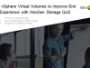 Using Storage QoS with VMware VVOL to Improve the End User Experience