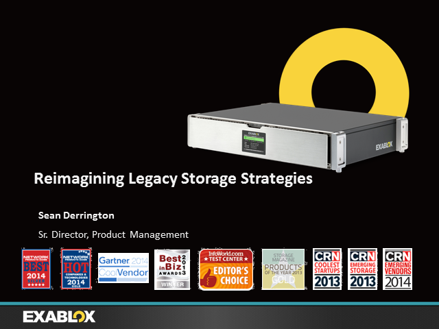 Reimagining Legacy Storage Strategies
