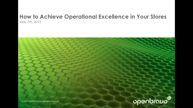 How to Achieve Operational Excellence in Your Stores