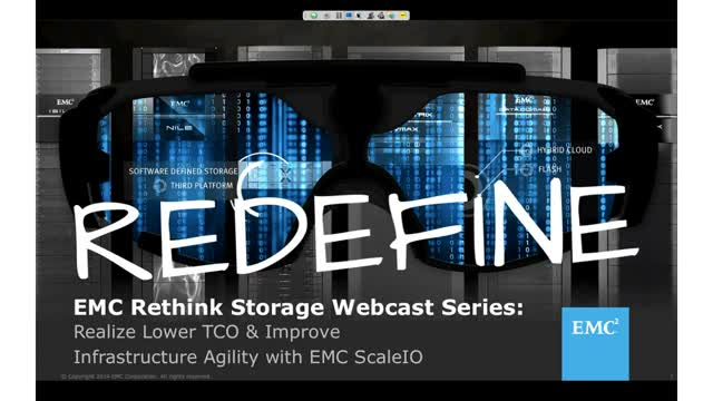 Realize Lower TCO and Improve Infrastructure Agility with EMC ScaleIO