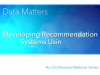 Developing Recommendation Systems Using SAS