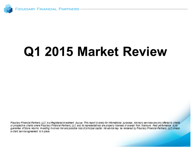 Q1 2015 Market Review
