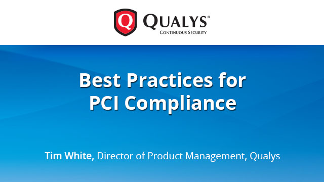 Best Practices for PCI Compliance