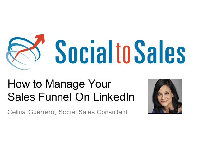 How to Manage Your Sales Funnel on LinkedIn