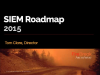 SIEM Roadmap 2015